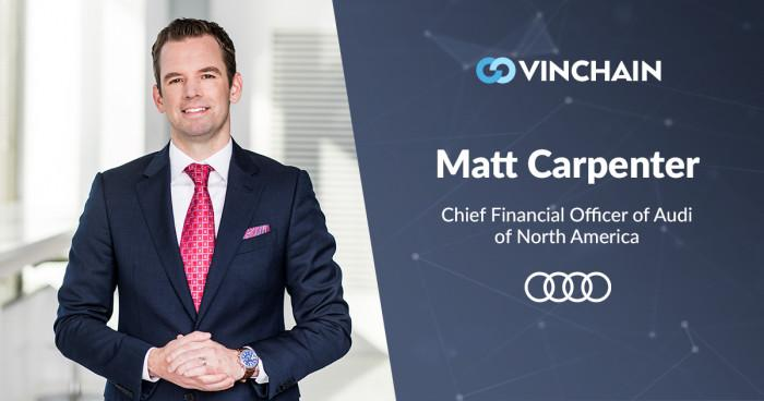 our new advisor - matt carpenter, cfo at audi of america and audi canada