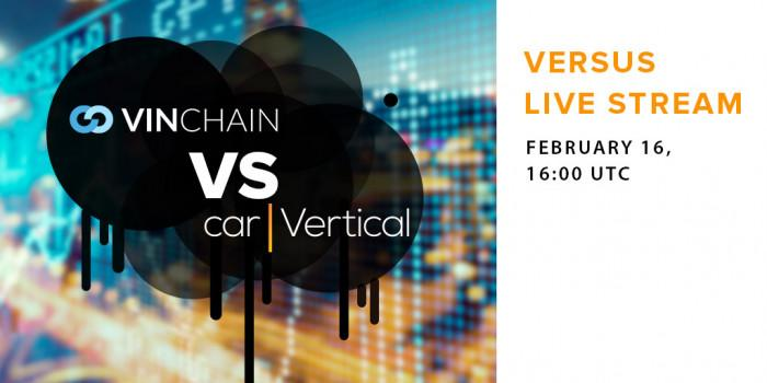vinchain webinar with alex miles. vinchain vs carvertical