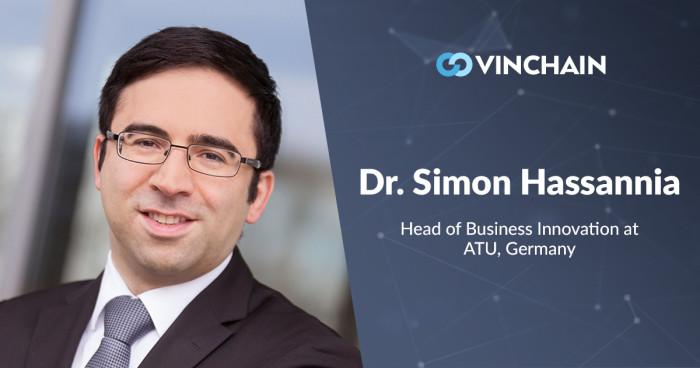 dr. simon hassannia – vinchain meets new outstanding adviser