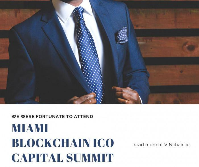 vinchain took part in miami blockchain ico capital summit