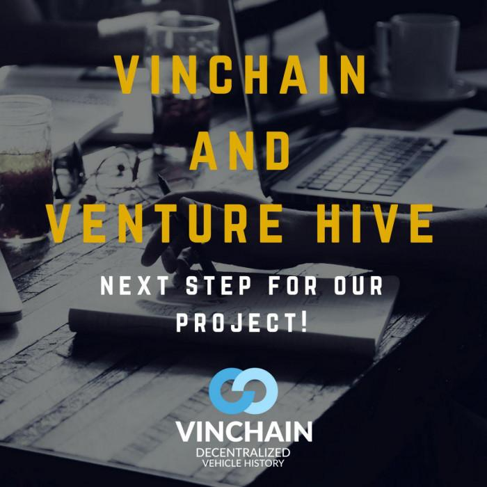 vinchain is in the venture hive accelerator program