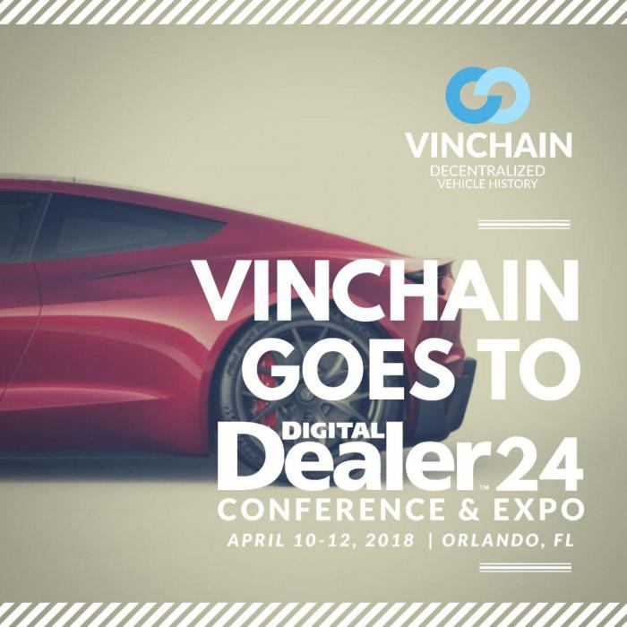 vinchain will be attending the digital dealer conference & expo in orlando!