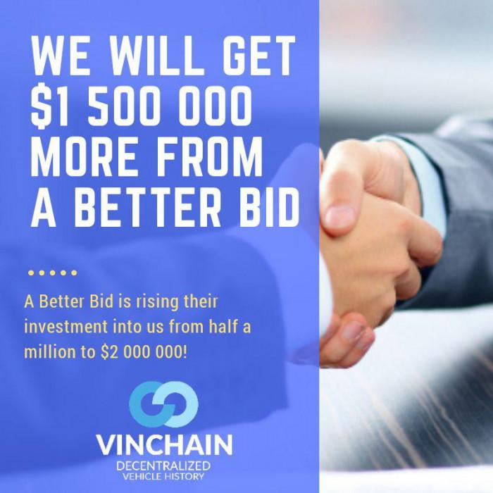 $2,000,000 usd contribution to vinchain!
