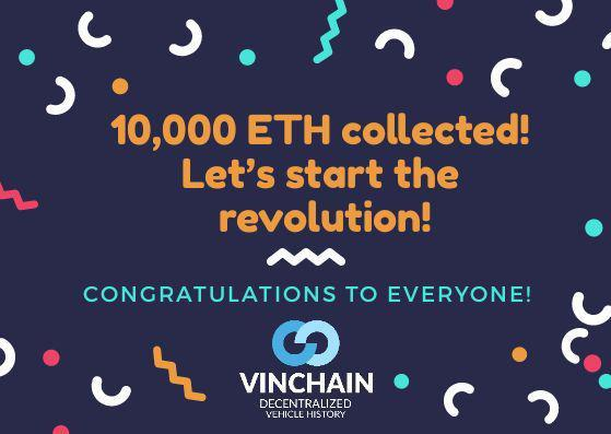10,000 eth collected!  let's start the revolution!