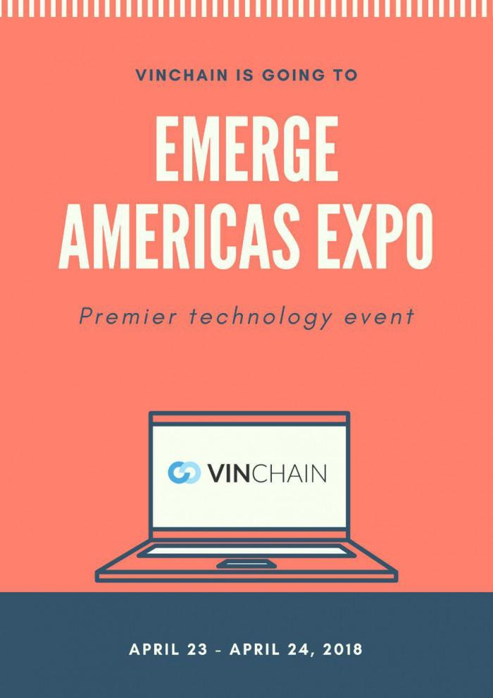 vinchain at emerge americas!