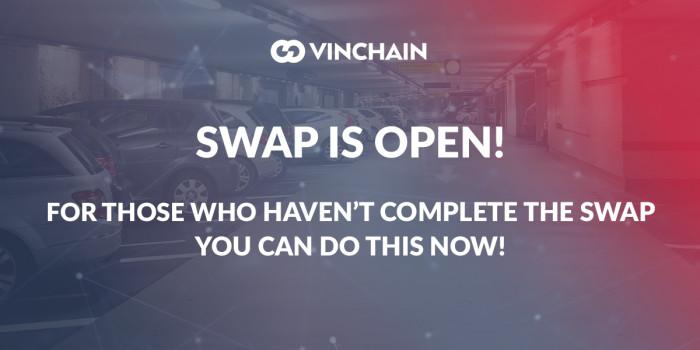 the token swap is available again!