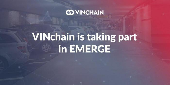 vinchain is taking part in emerge conference!
