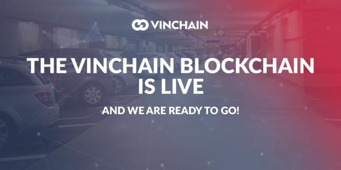 the vinchain blockchain is live and we are ready to go!