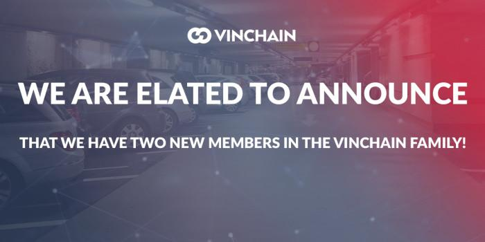we are elated to announce that we have two new members in the vinchain family