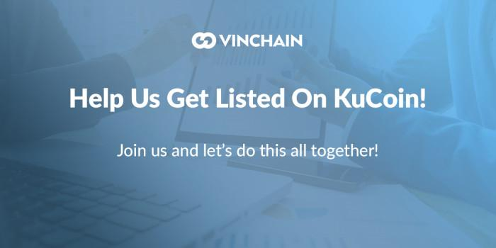 help us get listed on kucoin!
