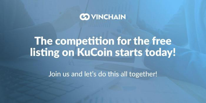 the competition for the free listing on kucoin starts today!