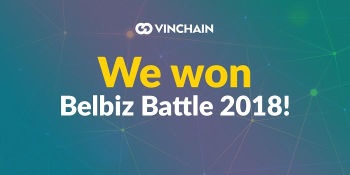 we won belbiz battle 2018!