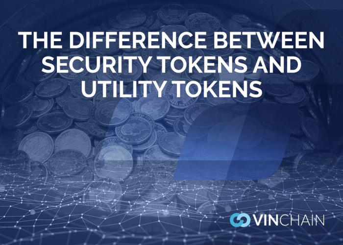 the difference between security tokens and utility tokens