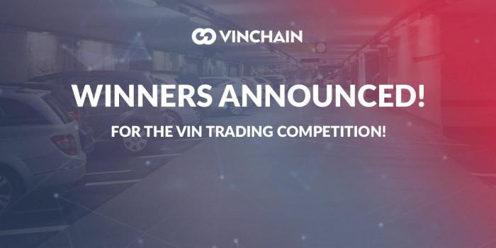 winners announced for the vin trading competition!