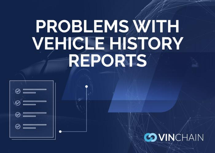 problems with vehicle history reports
