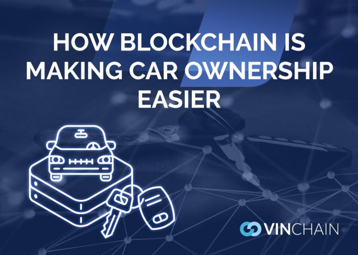 how blockchain is making car ownership easier