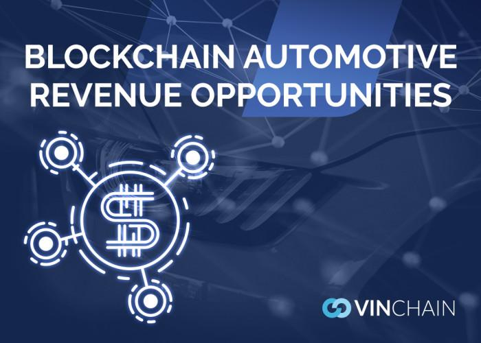 blockchain automotive revenue opportunities