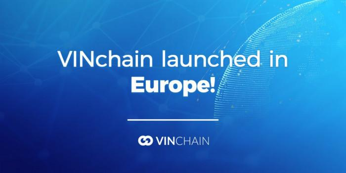 vinchain launched in europe!
