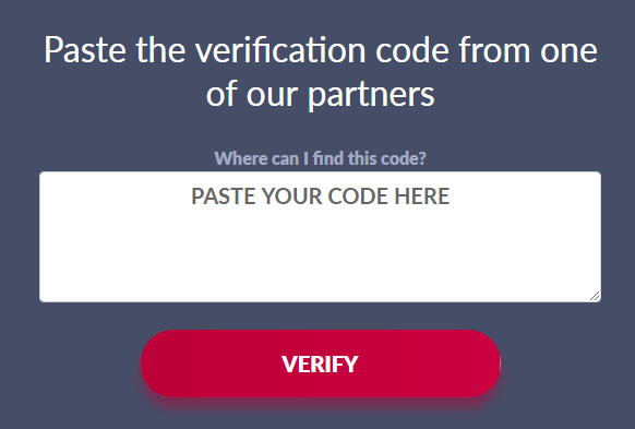 verify instruction